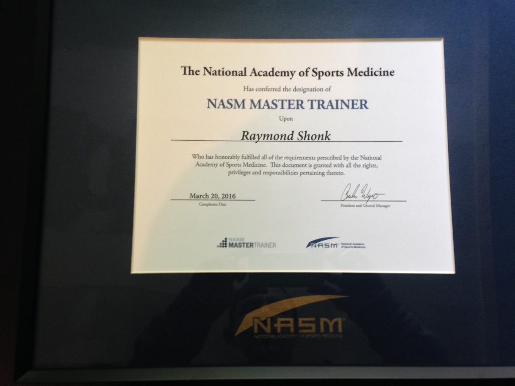 Nasm Master Certified Quest Fitness Gym