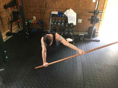 Ray - Quest Fitness - Getting results with a stick